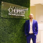 UFC Star Cathal Pendred pictured at Chopped in Fairview after signing an agreement to become the first offical franchisee of Chopped, the healthy food company. A franchise discovery morning takes place at Chopped Fairview on November 24th 10am for other prospective franchisees nationwide.  See www.chopped.ie to apply.