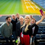 (13/10) Pictured at the 3XE Digital Conference at Croke Park were Johnny spindler CTO of BBDO, Alan Coleman, CEO and Brendan Almack, Director Wolfgang digital, Anthony Quigley Director & Founder, Digital Marketing Institute, Rosanna Davison author, nutritional therapist and digital influencer, Adrian Hopkins Director 3XE Digital and  Richard Talbot, Tinderpoint. Global  media experts converged for this widely anticipated conference and over 600 delegates attended. www.3XEDigital.com