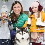 NO REPRO FEE 14/11/2016 Olympic star Annalise Murphy pictured with An Cathaoirleach Councillor Cormac Devlin along with (left to right) Sophie Bracken (4), Holly Walker (4) and Siberian Husky, Magic as they unveiled the event schedule for the Dun Laoghaire Christmas Festival on Ice from November 25th 2016 to January 8th 2017 presented by Dun Laoghaire Rathdown County Council in association with the Dun Laoghaire BID Company. The Festival will sparkle with family fun and highlights include a real Ice Rink from November 25th, Santa's arrival with a magnificent fireworks display on November 26th, A record attempt … on Ice, Flavours of Dun Laoghaire Christmas Kitchen, Black Friday, a Christmas Market, FREE screenings of Christmas movie favourites and lots more. See events.dlrcoco.ie for all details Photograph: Leon Farrell / Photocall Ireland