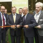 *** No Fee *** 9/9/2016: An Taoiseach Enda Kenny officially opening The Franchise Show at the Main Hall, RDS, Dublin with Ceri Rogers,Tom Portesy and Rory O'Dwyer. This will be the largest ever Franchise Show held in Ireland with franchisors flying in from all over the world to present exciting franchise and new business opportunities as well as an impressive selection of Irish Franchises.  Picture  Philip Fitzpatrick/Collins Photos