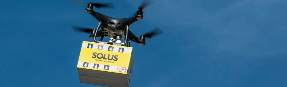 Sky is the limit for Solus as they pilot Ireland's first retail drone delivery