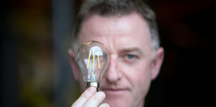 The light bulb you loved has just been invented