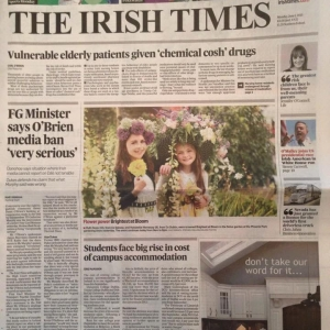 Irish Times – Bloom