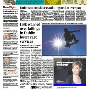 Irish Times – Gravitation