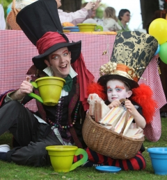 DLR Events Mad Hatters Tea Party