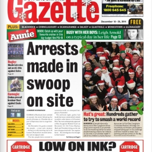 Santa Hat Record Front Page News