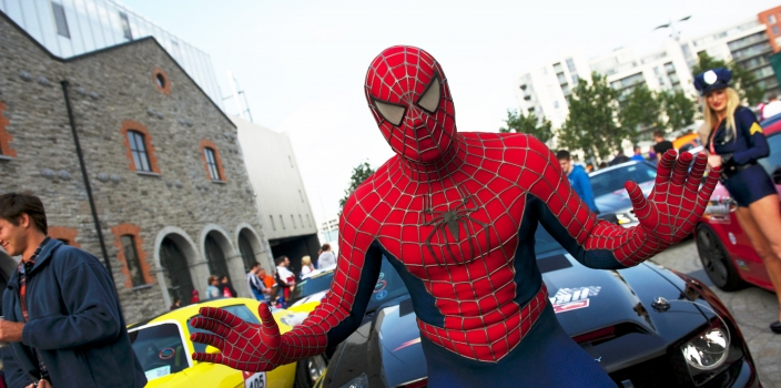 Sligo goes car-azy for Cannonball with fancy dress frenzy all over town