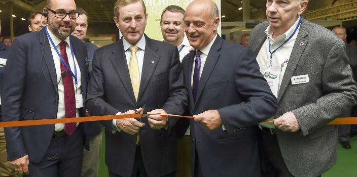 An Taoiseach Enda Kenny officially opens largest ever Franchise Show in Ireland