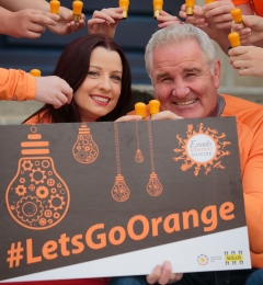 Launch of #LetsGoOrange Campaign for Solus